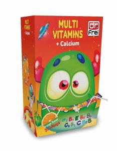 Kẹo Mút Vitamins Tổng Hợp & Canxi Cho Trẻ Em Dr.Frei